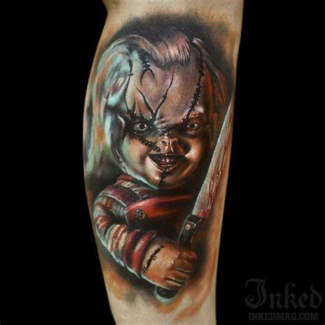 chucky tattoo 25 best ideas about chucky on