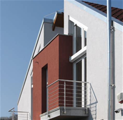 fassade rot fassadengestaltung einfamilienhaus grau haus deko ideen