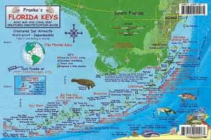 florida reef creatures road and recreation map