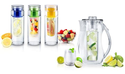 Infuse Water Jug up to 82 infuse water bottles groupon