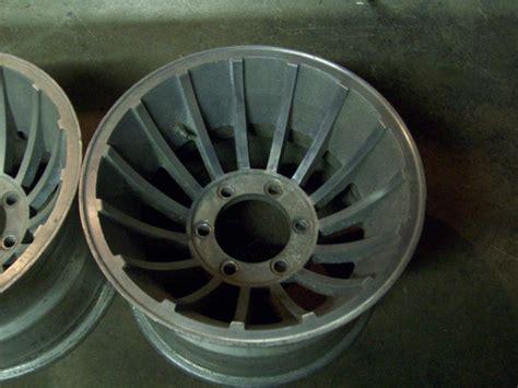 Set of 4 15x10 chevy gmc 4x4 turbine hurricane western wheel style