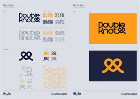 layout brand guidelines double knot style guide style guide pinterest logo