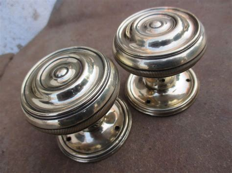 architectural salvage two style antique brass