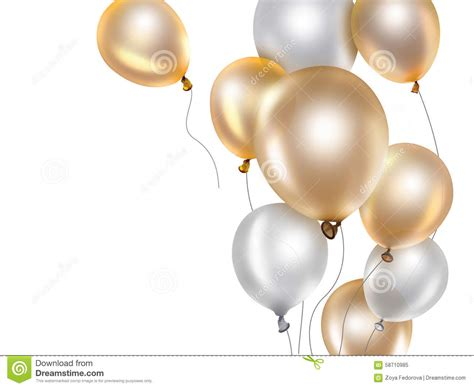 silver and gold gold and silver balloons www pixshark com images