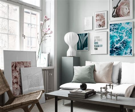 picture wall inspiration for living room posters desenio