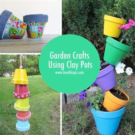 Garden Using Clay Pots Pin By Januari Warner On Amazing