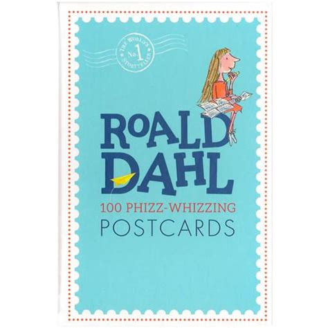 roald dahl postcard box 100 phizz whizzing postcards the literary gift company