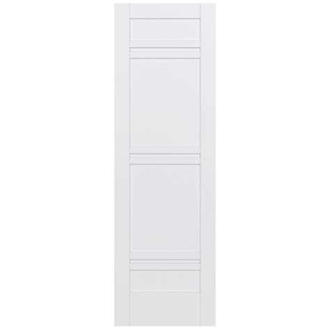 Krosswood Doors 32 In X 96 In Craftsman Shaker 3 Panel 96 Interior Doors