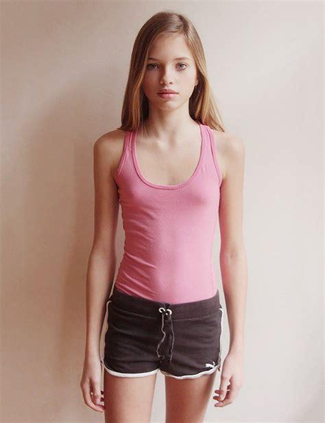 budding teen girl no bra cassandra van waveren flat chested small boobies