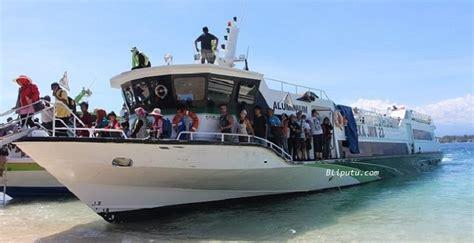 fast boat dari bali ke lombok tiket fast boat ke gili trawangan 085253756873