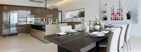 Interior Design For Kitchen And Dining Luxury Kitchens By Clive Christian Interior Design Luxury Residential Open Kitchen Interior