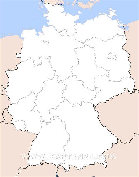 Kare Deutschland by Stumme Karte Deutschland Bundesl 228 Nder