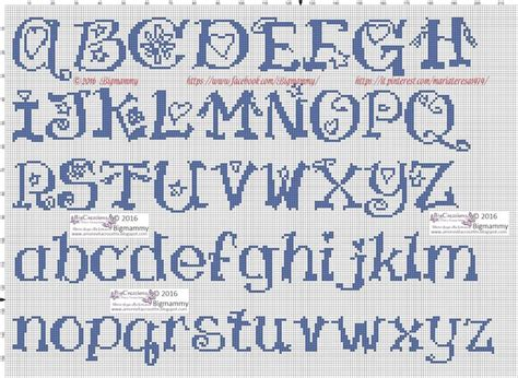 lettere in punto croce pi 249 di 25 fantastiche idee su lettere punto croce su