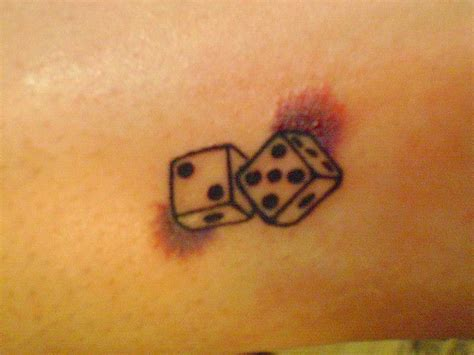 dice tattoo meaning top 25 best dice ideas on