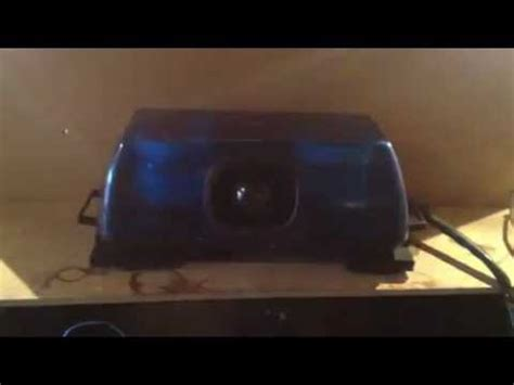 Lu Whelen rsg trailblazer magnetic lightbar siren demo bluelite evl