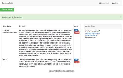 membuat multi login dengan codeigniter dan bootstrap gratis aplikasi web dengan codeigniter dan bootstrap