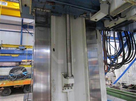wotan rapid 5c cnc floor type horizontal boring mill with square ram boring mills horizontal