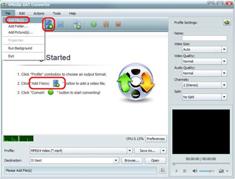 converter format dat how to convert dat to other videos