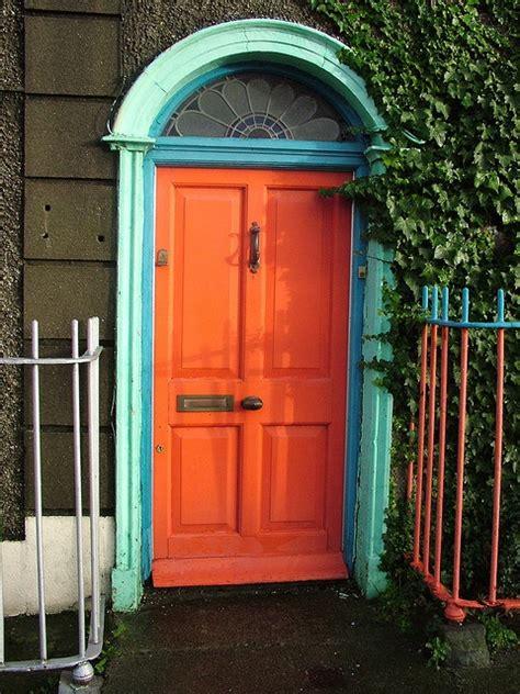 orange door orange front doors orange door