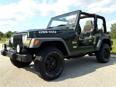 Jeep Willys Edition Buy Used 2005 Jeep Wrangler 4 0l 4x4 Willys Limited
