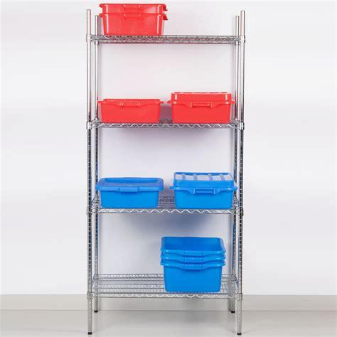 Nsf Shelf by Regency 24 Quot X 36 Quot Nsf Chrome Shelf Kit With 74 Quot Posts