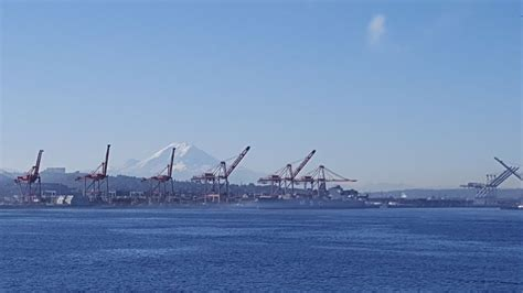 Marketing Manager Mba Salary Seattle Washington by View From Outdoor Employee Di Port Of Seattle Office