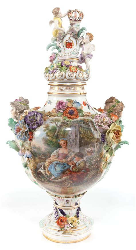 Dresden Vase by Pin By Hudspeth Collectibles And Antiques On Dresden