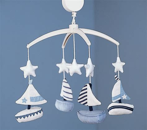 Sailboat Mobile For Crib by Sailboat Mobile Baby Mobiles By