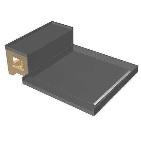 bench base base n bench 48 in x 60 in single threshold shower base