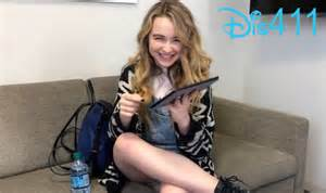 Sabrina carpenter posted a really cute video on her facebook on friday