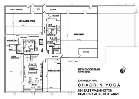 yoga studio floor plan chagrin yoga chagrin yoga expansion project