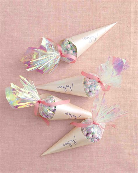 Wedding Favor Packaging Templates Martha Stewart Weddings Martha Stewart Paper Cone Template