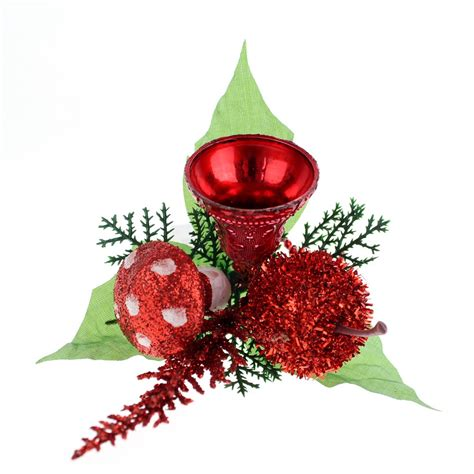 wholesale christmas floral picks picks with