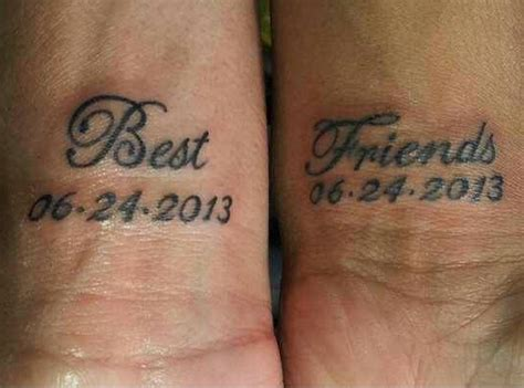 boy and girl best friend tattoos 100 best friend tattoos ideas design with meaning for