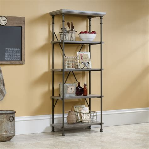 sauder 5 shelf bookcase sauder canal 5 shelf bookcase