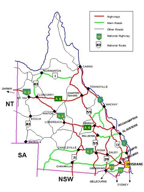 australia road map outback killers