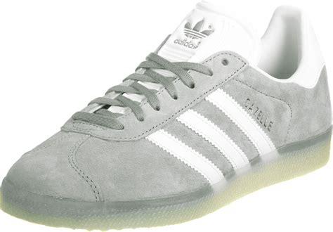 adidas gazelle shoes grey white