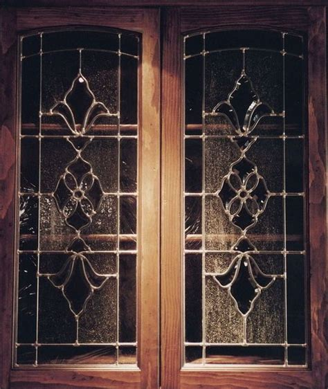 leaded glass kitchen cabinet inserts kitchen