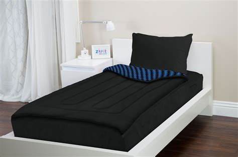 zip bed zipit bedding set zip up your sheets and comforter like