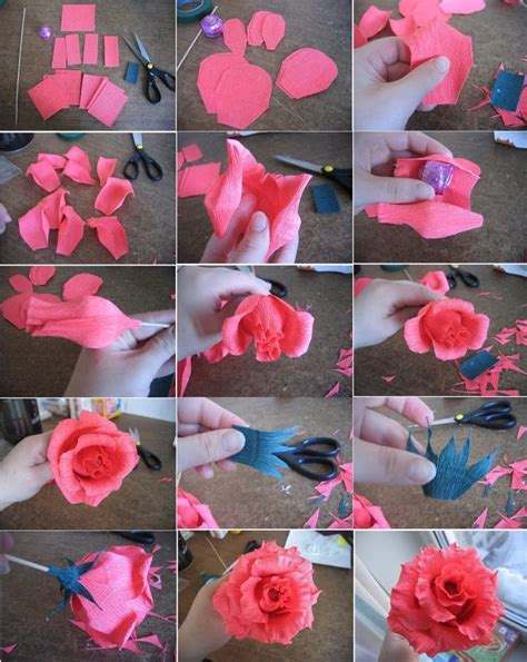 how to make craft for diy craft flower pictures photos and images for