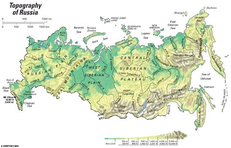 russia physical geography map quiz russia topography encyclopedia children s