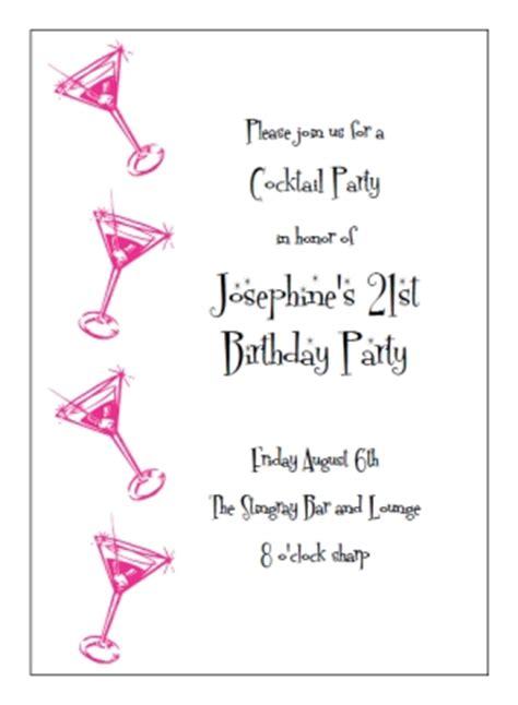 free cocktail invitation templates printable cocktail invitation