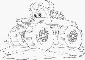 download monster truck coloring pages 600 400 resolution pictures pin