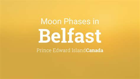 moon phases  lunar calendar  belfast prince edward island canada