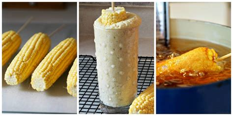 corn on the cob for dogs batter fried corn on the cob simply sated