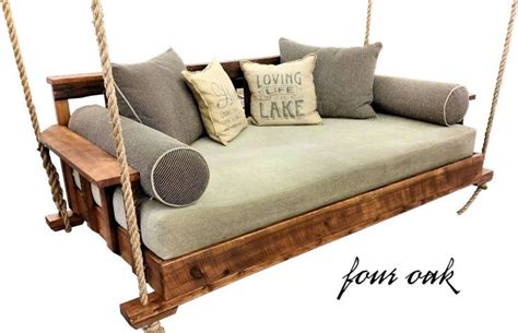 20 Best Outdoor Daybed Swing Images On Pinterest Swinging Bed Frame