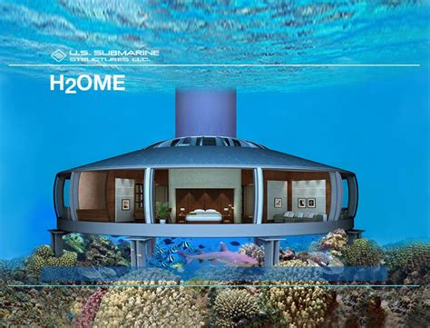 house of scuba h2ome is your own underwater home at the bottom of the sea