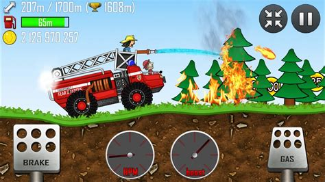 hill climb racing truck hill climb racing truck in forest gameplay