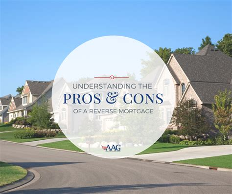 mortgage pros and cons