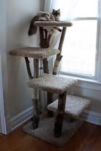 Handmade Cat Tree - cat tree kingdom custom trees